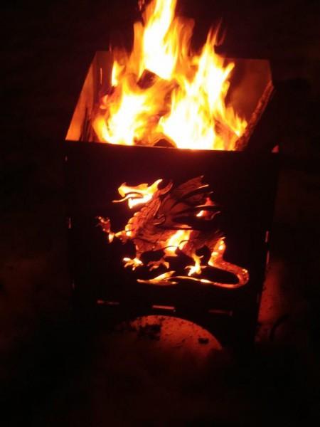 Feuerkorb Drachen 1