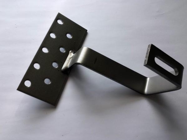 4502 Dachhaken Platte: 4x60x150 / Haken: 5x30 / Material 1.4016